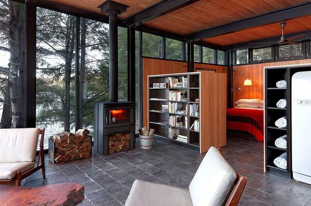 Ngôi nhà lưng tựa núi, mặt view hồ đẹp chất ngất dành cho những ai muốn sống gần thiên nhiên - Ảnh 7.