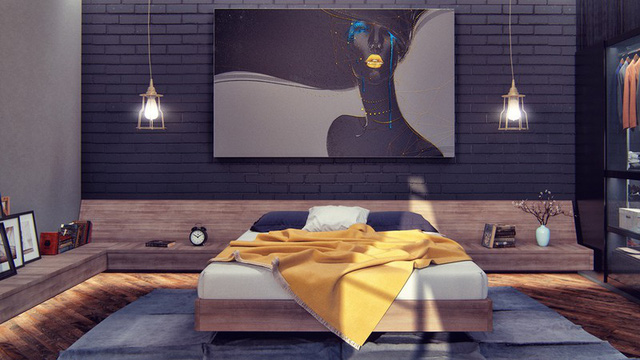 Phòng ngủ đẹp như tranh mà bất cứ cô gái nào cũng mê mẩn - Ảnh 8.
