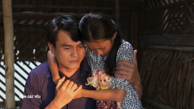 """Không làm """"cậu ba"""" nóng tính nữa, Cao Minh Đạt trở thành người cha dũng cảm đi đòi quyền lợi cho con gái nhỏ! - Ảnh 2."""