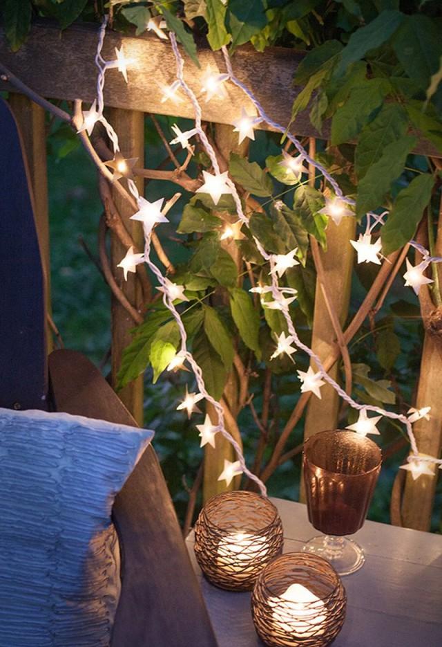 10 ý tưởng biến sợi đèn dây cũ kĩ trở nên rực rỡ, cực đơn giản nhưng khiến không gian lung linh ngoài mong đợi - Ảnh 3.