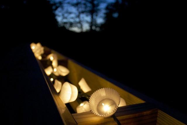 10 ý tưởng biến sợi đèn dây cũ kĩ trở nên rực rỡ, cực đơn giản nhưng khiến không gian lung linh ngoài mong đợi - Ảnh 9.