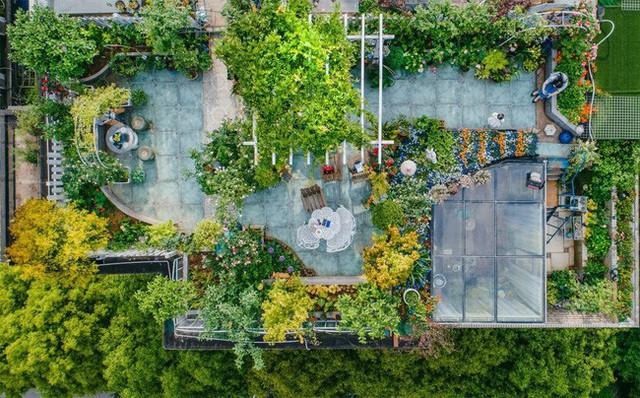 Tận dụng mái nhà bỏ hoang, người phụ nữ 45 tuổi đã biến toàn bộ không gian thành khu vườn địa đàng - Ảnh 3.