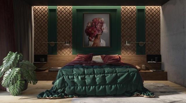 Phòng ngủ màu xanh sẽ mang đến nguồn năng lượng tích cực cho cuộc sống của bạn - Ảnh 11.
