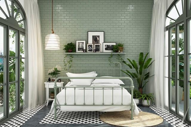 Phòng ngủ màu xanh sẽ mang đến nguồn năng lượng tích cực cho cuộc sống của bạn - Ảnh 5.
