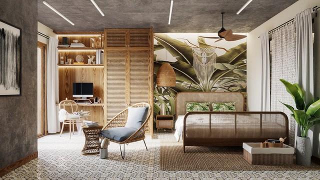 Phòng ngủ màu xanh sẽ mang đến nguồn năng lượng tích cực cho cuộc sống của bạn - Ảnh 6.