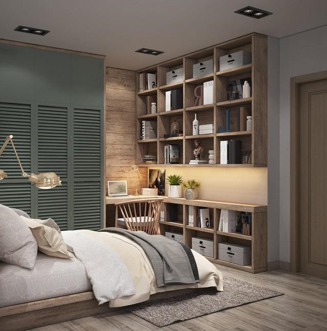 Căn hộ 25m2 có cách sắp xếp nội thất cực kỳ thông minh - Ảnh 6.