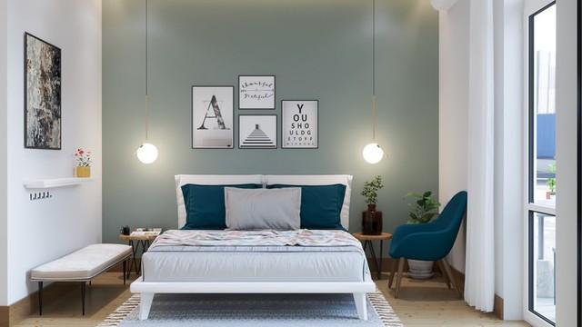 Phòng ngủ màu xanh sẽ mang đến nguồn năng lượng tích cực cho cuộc sống của bạn - Ảnh 10.