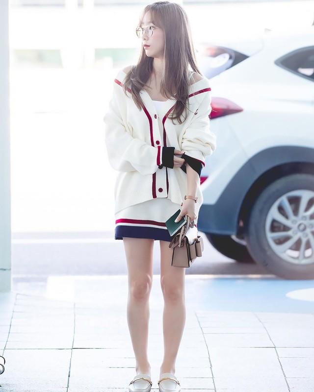 4 kiểu diện cardigan của idol Hàn, chị em chớ bỏ qua khi mùa lạnh dần đến - Ảnh 1.