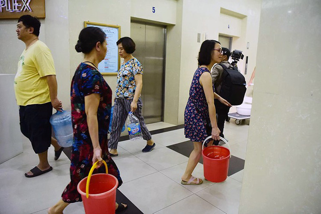 Một tuần vật lộn với khủng hoảng nước của người Hà Nội  - Ảnh 4.