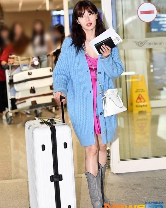 4 kiểu diện cardigan của idol Hàn, chị em chớ bỏ qua khi mùa lạnh dần đến - Ảnh 5.