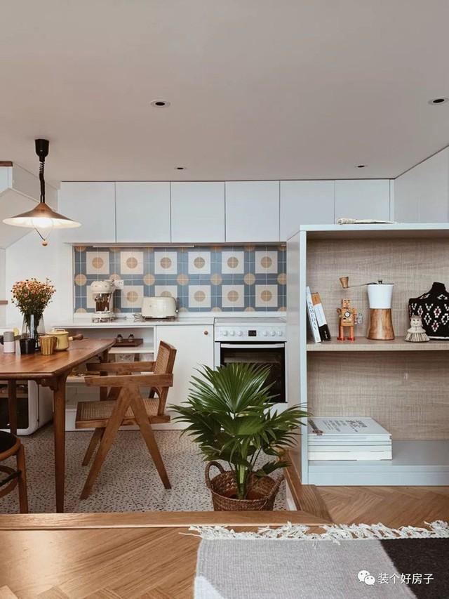 Cặp vợ chồng trẻ khiến nhiều người thán phục khi cải tạo nhà 32m² thành không gian sống đẹp tiện nghi - Ảnh 11.