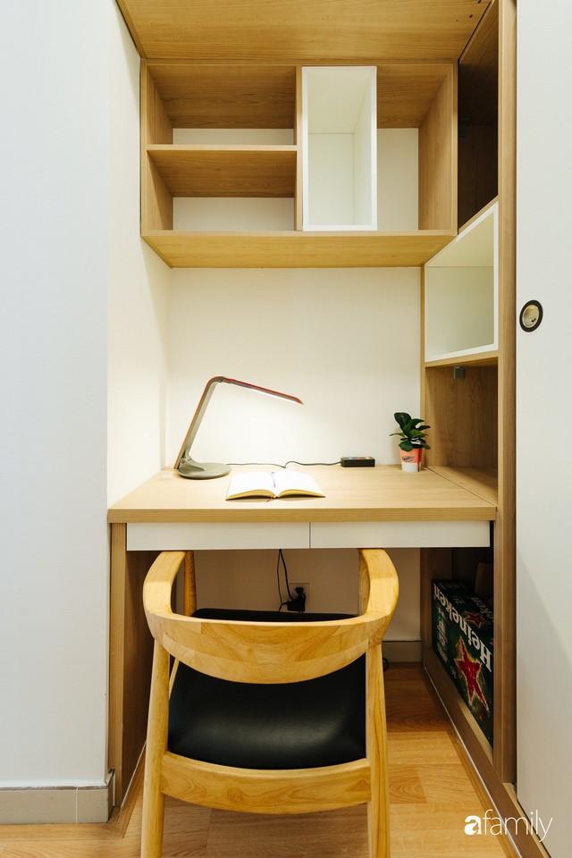 Căn hộ nhỏ thiết kế theo phong cách Nhật của cặp vợ chồng trẻ yêu thích cuộc sống an yên ở Hà Nội - Ảnh 18.
