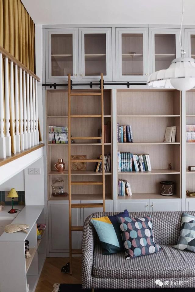 Cặp vợ chồng trẻ khiến nhiều người thán phục khi cải tạo nhà 32m² thành không gian sống đẹp tiện nghi - Ảnh 5.