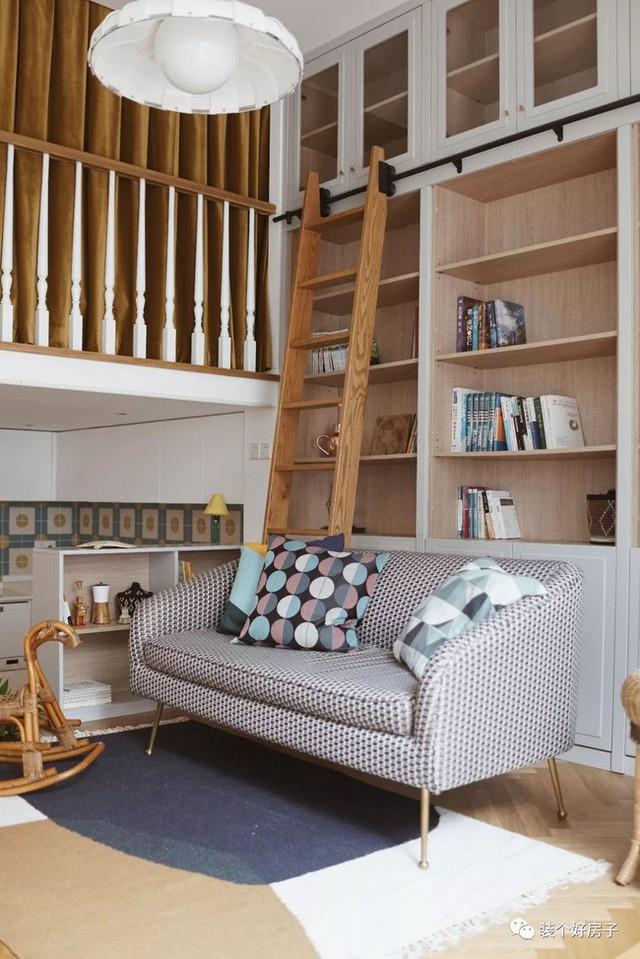 Cặp vợ chồng trẻ khiến nhiều người thán phục khi cải tạo nhà 32m² thành không gian sống đẹp tiện nghi - Ảnh 6.