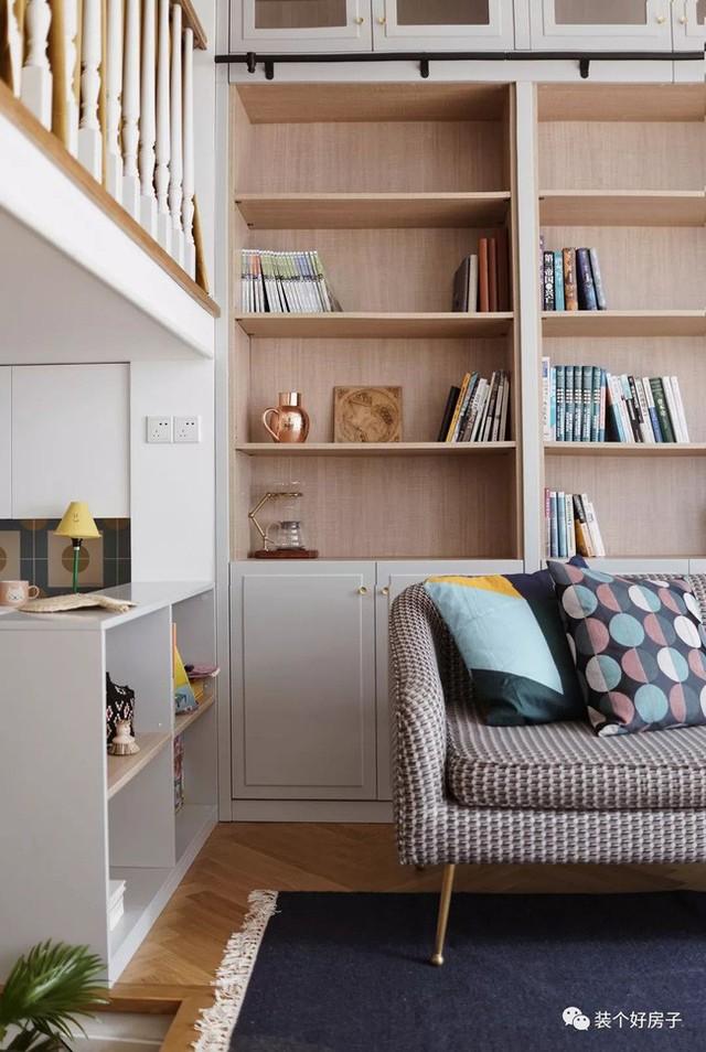 Cặp vợ chồng trẻ khiến nhiều người thán phục khi cải tạo nhà 32m² thành không gian sống đẹp tiện nghi - Ảnh 7.