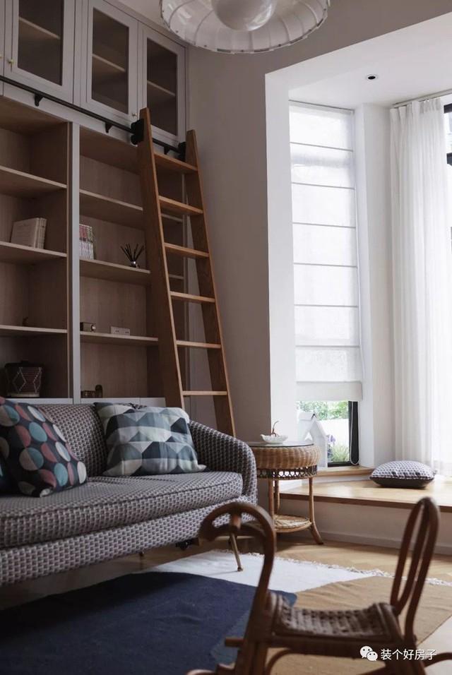 Cặp vợ chồng trẻ khiến nhiều người thán phục khi cải tạo nhà 32m² thành không gian sống đẹp tiện nghi - Ảnh 8.
