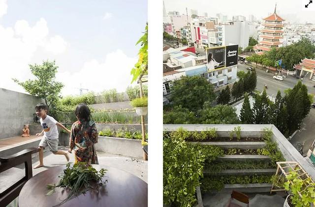 Nhà Sài Gòn lên mỗi tầng như đi du lịch nước khác  - Ảnh 12.