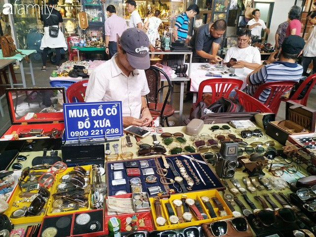 Lạc vào chợ đồ cổ Cao Minh, phiên chợ 1 tuần mở 1 lần - nơi buôn bán hoài niệm và tìm về hồi ức giữa lòng Sài Gòn - Ảnh 19.