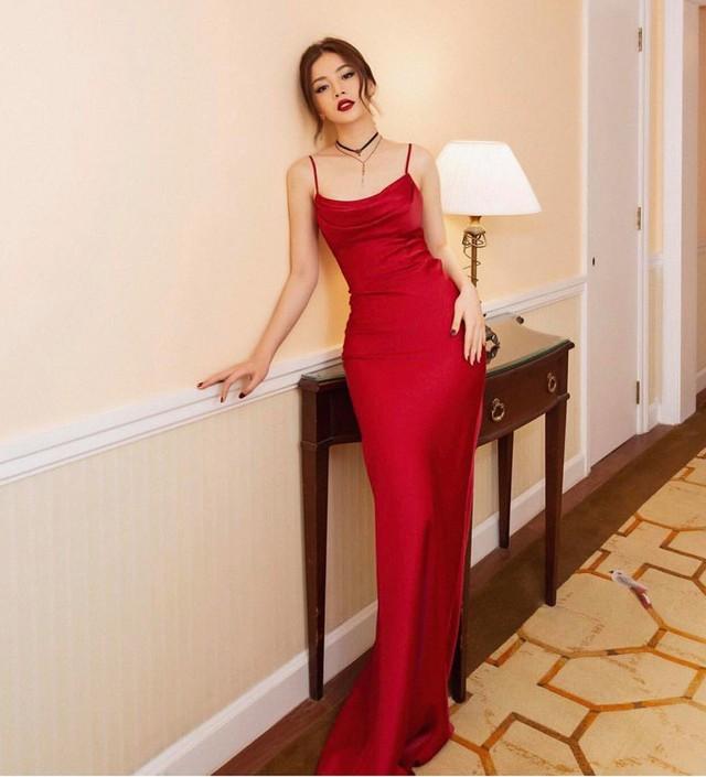 Cùng là váy lụa nhưng chỉ cần Midu khéo chọn thì sẽ hoàn hảo, tiếc là cô không biết đến 4 tips này sớm hơn - Ảnh 9.