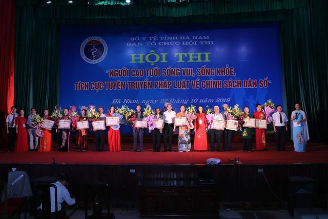 Hà Nam tổ chức Hội thi người cao tuổi sống vui sống khỏe, tích cực tuyên truyền về chính sách dân số - Ảnh 11.