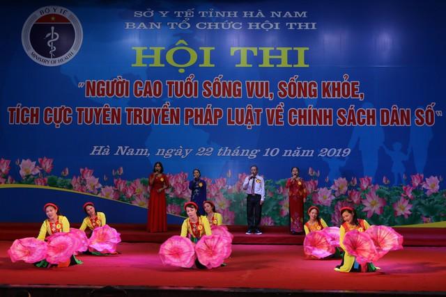 Hà Nam tổ chức Hội thi người cao tuổi sống vui sống khỏe, tích cực tuyên truyền về chính sách dân số - Ảnh 7.