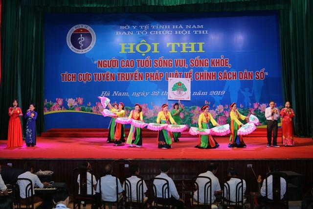 Hà Nam tổ chức Hội thi người cao tuổi sống vui sống khỏe, tích cực tuyên truyền về chính sách dân số - Ảnh 8.