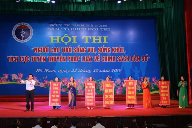 Hà Nam tổ chức Hội thi người cao tuổi sống vui sống khỏe, tích cực tuyên truyền về chính sách dân số - Ảnh 9.