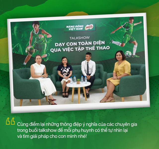 Dạy con toàn diện qua việc tập thể thao: Chuyên gia giải đáp nhiều băn khoăn của cha mẹ Việt - Ảnh 1.