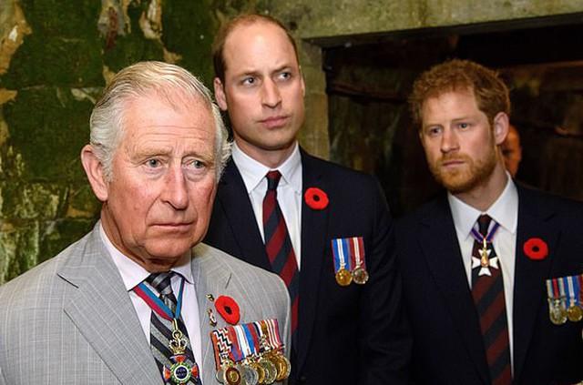 Thái tử Charles nổi giận vì mâu thuẫn giữa hai con trai - Ảnh 1.