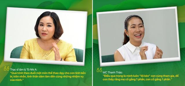 Dạy con toàn diện qua việc tập thể thao: Chuyên gia giải đáp nhiều băn khoăn của cha mẹ Việt - Ảnh 3.