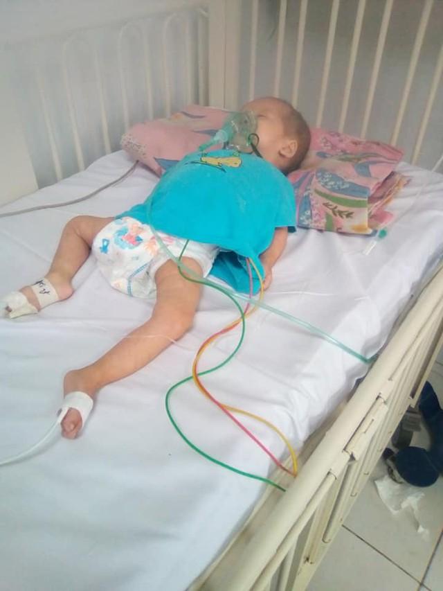 Bé gái 1 tuổi mang trong mình bệnh tim bẩm sinh cần tiền điều trị - Ảnh 2.