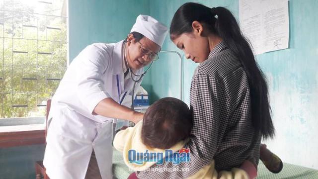 Hiệu quả từ nâng cao chất lượng cho y tế cơ sở ở Quảng Ngãi - Ảnh 2.
