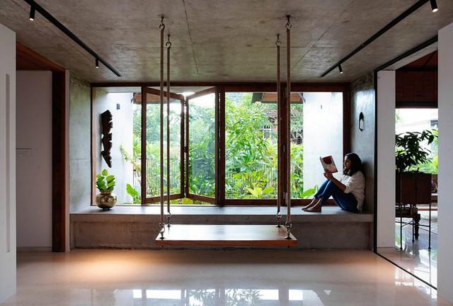 Nhà gỗ nhìn ngoài đơn giản nhưng bên trong đẹp khó rời mắt - Ảnh 6.