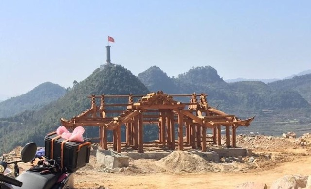 """Bộ Văn hóa """"tuýt còi"""" dự án phá núi xây khu du lịch tâm linh nơi địa đầu Tổ quốc - Ảnh 3."""