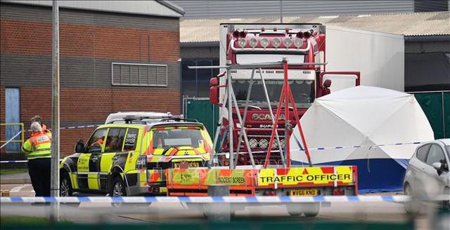 Vụ 39 thi thể trong xe tải ở Anh: Cảnh sát Anh không xác nhận các thông tin đồn đoán  - Ảnh 2.
