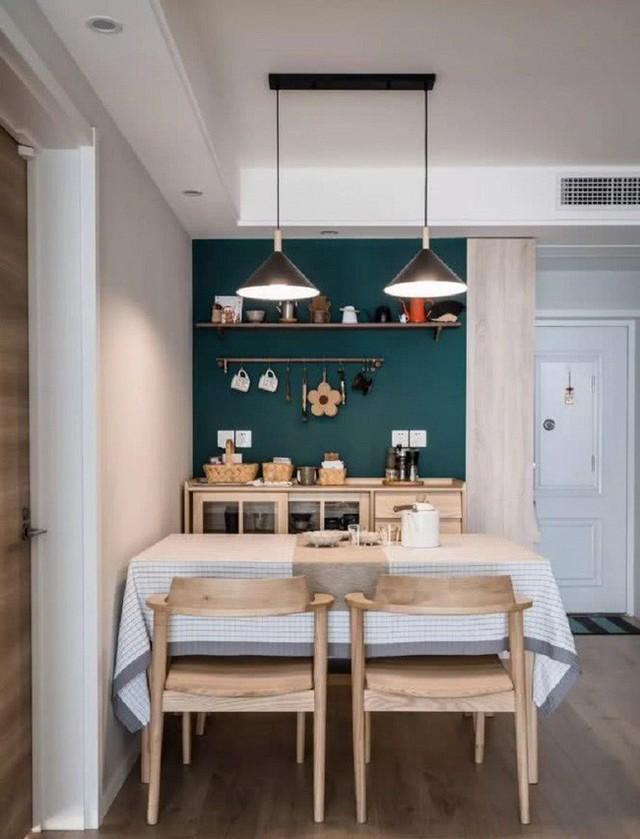Những cách bài trí bàn ăn với đồ nội thất vô cùng nổi bật cho không gian bếp của nhà chung cư  - Ảnh 2.