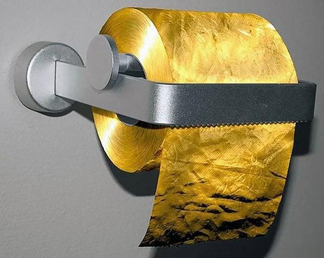 Ở Việt Nam thì bình thường nhưng giấy vệ sinh tại nước ngoài lại muôn hình vạn trạng thu hút khách hàng, có loại lên tới 34 tỷ đồng/cuộn - Ảnh 12.