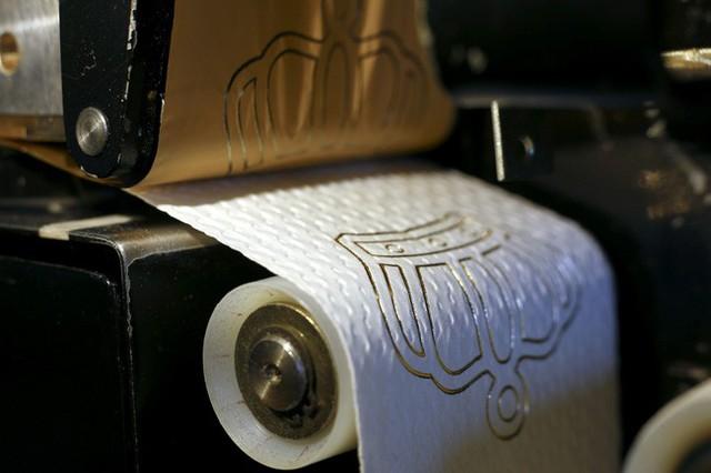Ở Việt Nam thì bình thường nhưng giấy vệ sinh tại nước ngoài lại muôn hình vạn trạng thu hút khách hàng, có loại lên tới 34 tỷ đồng/cuộn - Ảnh 14.