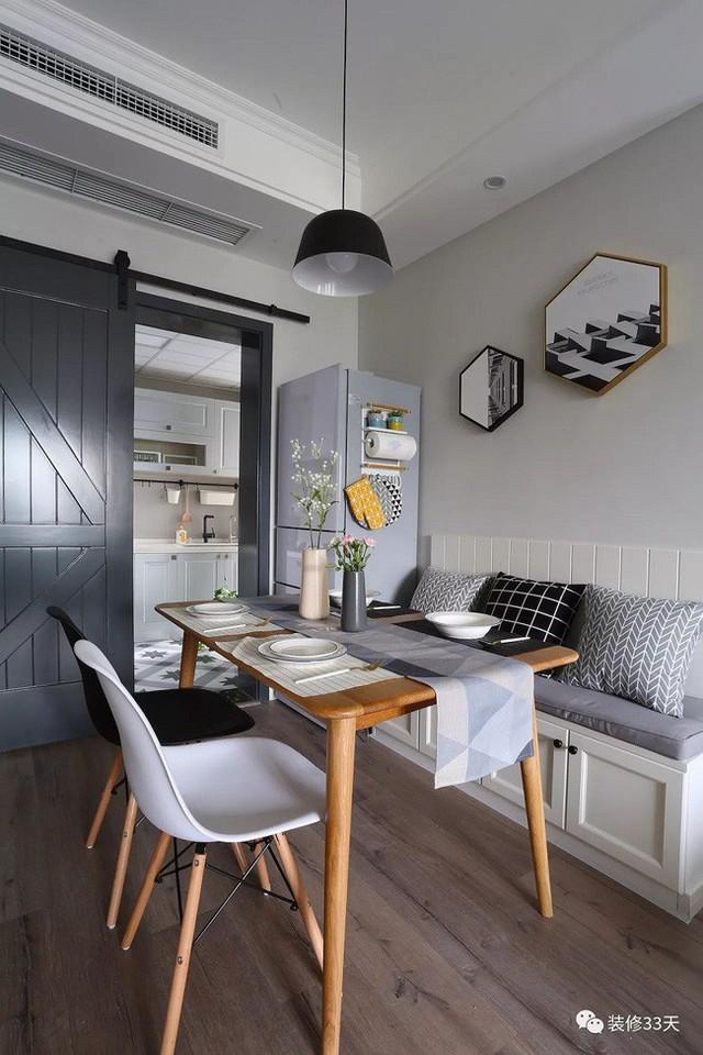 Những cách bài trí bàn ăn với đồ nội thất vô cùng nổi bật cho không gian bếp của nhà chung cư  - Ảnh 3.