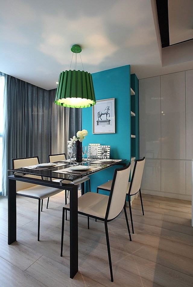 Những cách bài trí bàn ăn với đồ nội thất vô cùng nổi bật cho không gian bếp của nhà chung cư  - Ảnh 5.