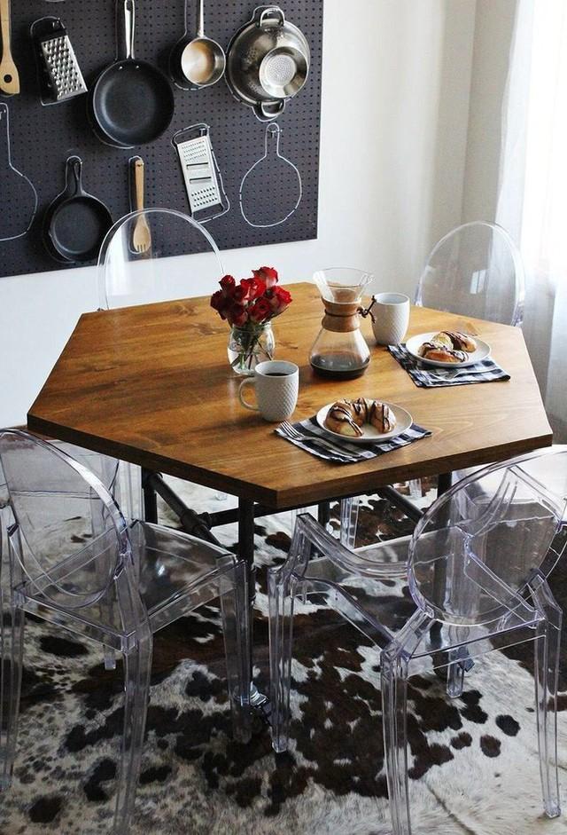 Những cách bài trí bàn ăn với đồ nội thất vô cùng nổi bật cho không gian bếp của nhà chung cư  - Ảnh 6.