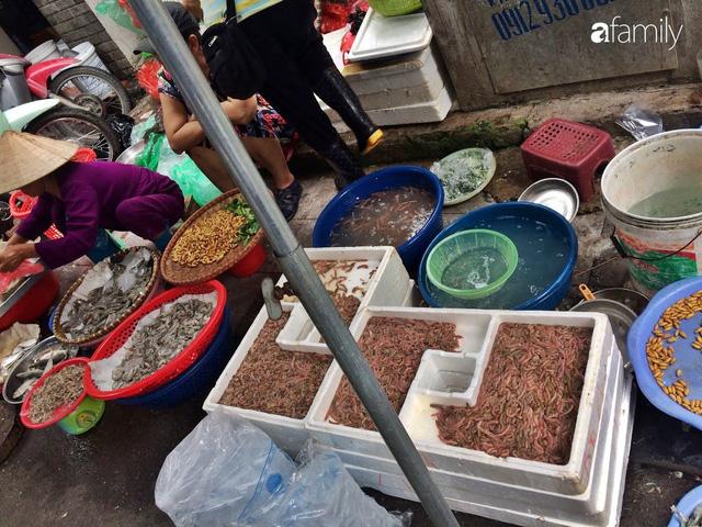 Mùa rươi đến người tiêu dùng Hà Nội lại thi nhau ghé qua khu chợ này, giá tuy cao nhưng vẫn tấp nập người mua  - Ảnh 7.