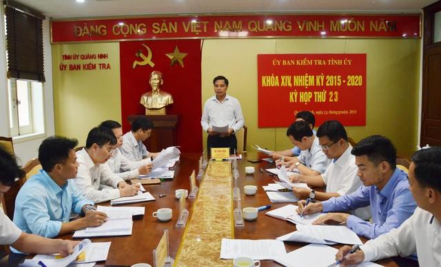 Quảng Ninh: Vì sao một loạt cán bộ ở TP. Cẩm Phả bị yêu cầu xử lý kỷ luật? - Ảnh 1.