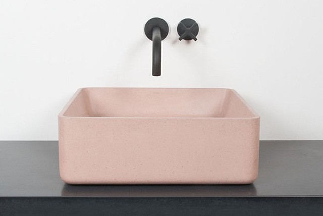 Bồn rửa tay xi măng - lựa chọn tuyệt hảo mà mọi gia đình không nên bỏ lỡ - Ảnh 1.