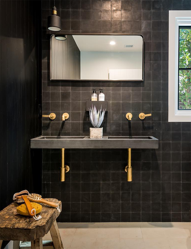 Bồn rửa tay xi măng - lựa chọn tuyệt hảo mà mọi gia đình không nên bỏ lỡ - Ảnh 2.