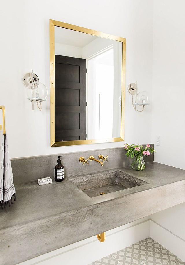 Bồn rửa tay xi măng - lựa chọn tuyệt hảo mà mọi gia đình không nên bỏ lỡ - Ảnh 11.