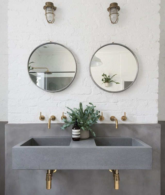 Bồn rửa tay xi măng - lựa chọn tuyệt hảo mà mọi gia đình không nên bỏ lỡ - Ảnh 13.