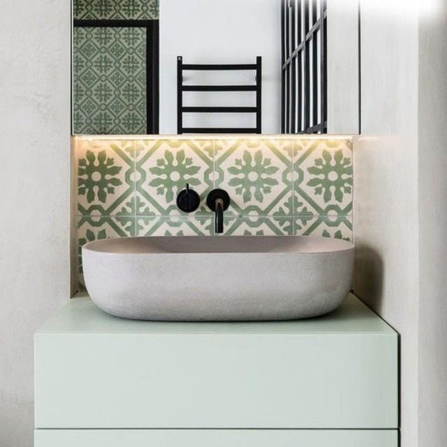 Bồn rửa tay xi măng - lựa chọn tuyệt hảo mà mọi gia đình không nên bỏ lỡ - Ảnh 14.