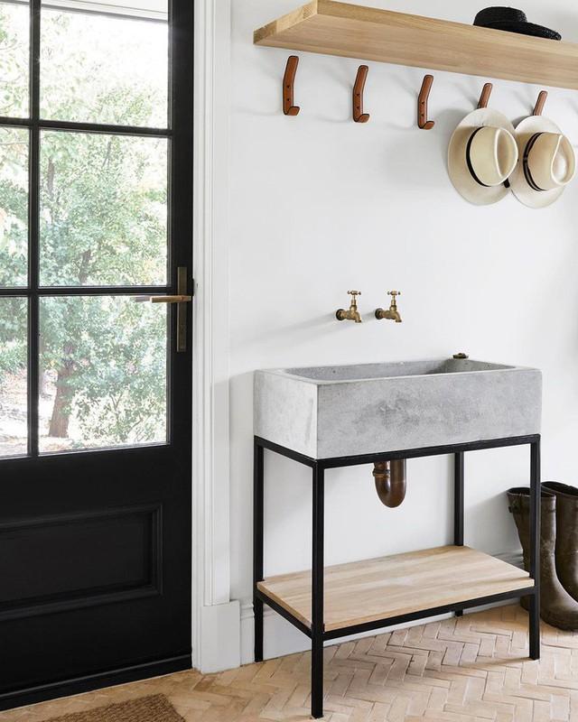 Bồn rửa tay xi măng - lựa chọn tuyệt hảo mà mọi gia đình không nên bỏ lỡ - Ảnh 16.