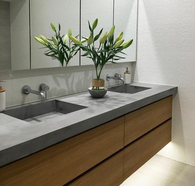 Bồn rửa tay xi măng - lựa chọn tuyệt hảo mà mọi gia đình không nên bỏ lỡ - Ảnh 17.